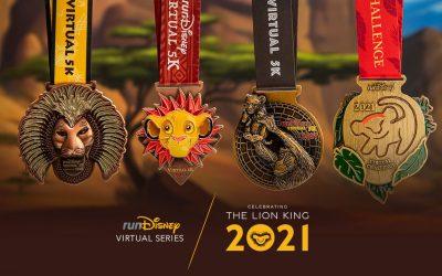 runDisney Virtual Series 2021 feiert Disney's Der König der Löwen